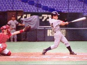 東京都専門学校野球大会決勝東京ドームにて
