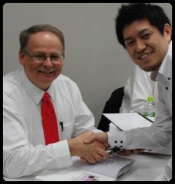 アクティベータメソッドDr. Fuhr来日特別セミナーにて、Dr. Jan Robertsと。